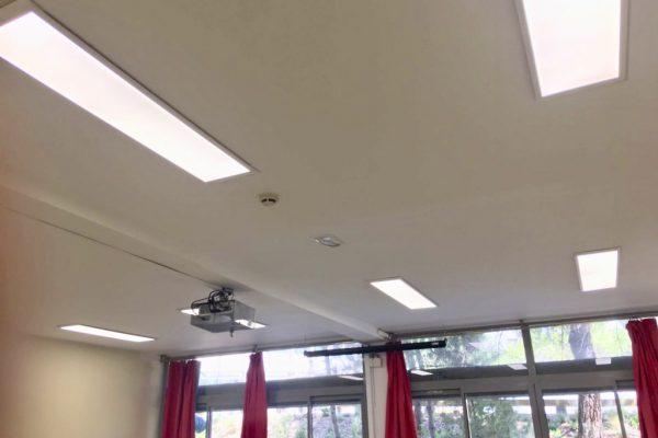Iluminación LED Liceo Francés de Madrid