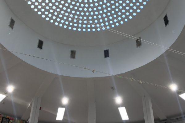Segunda Fase reemplazo de luminarias Liceo Francés de Madrid