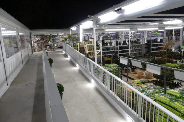 Proyecto de iluminación LED para Verdecora Aravaca (Madrid)