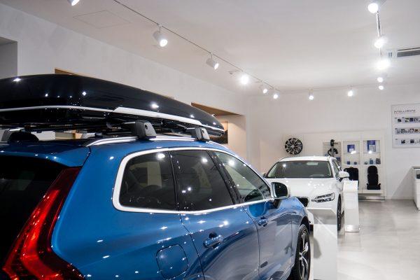 Iluminación Retail «Concesionario de Automóviles»